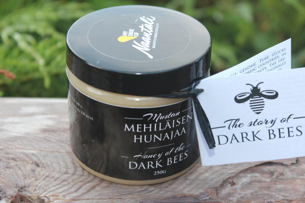 Dark bees honey